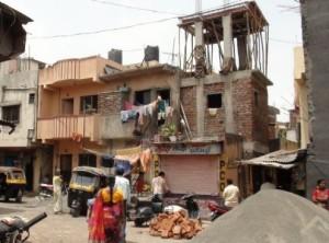 foto bouw gestapelde woningen 1 india pune